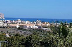 zeezicht villa Javea Costa Blanca