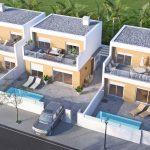 moderne villa's pilar de la horadada costa blanca