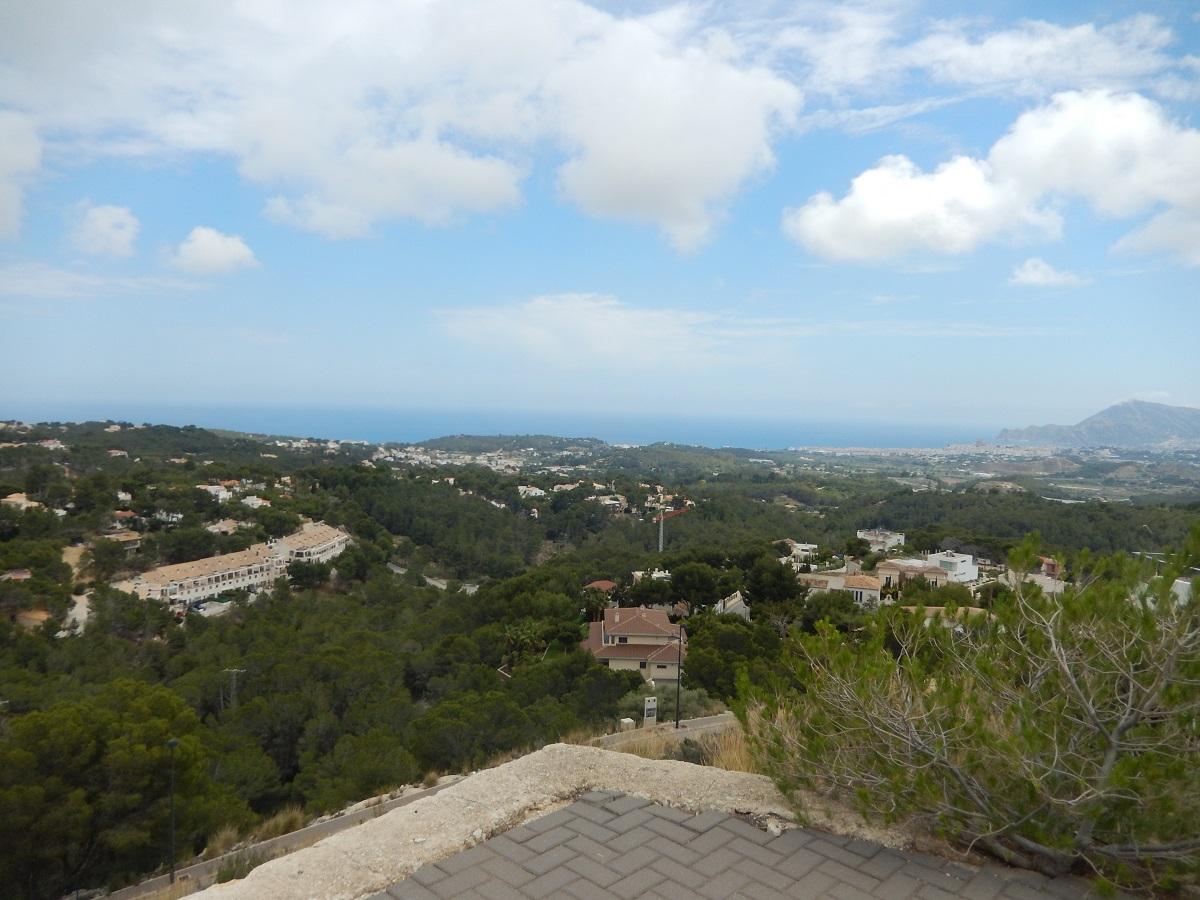 bouwgrond met zeezicht te koop Altea Spanje