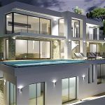 luxe zeezicht villa El Portet Moraira