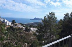 bouwgrond zeezicht altea costa blanca