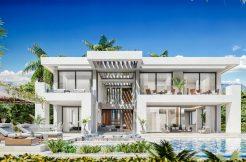 moderne zeezicht villa's estepona