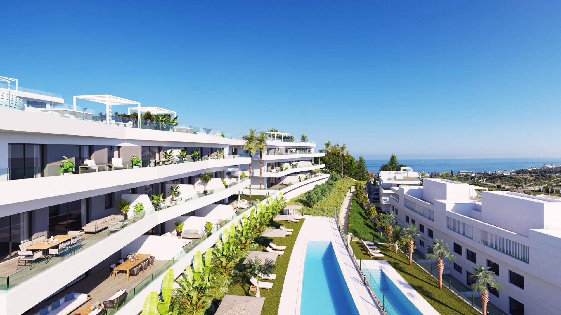 Luxe moderne zeezicht appartementen, Estepona