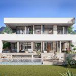moderne zeezicht villa la cala de mijas costa del sol