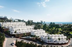 moderne zeezicht woningen benalmadena costa del sol