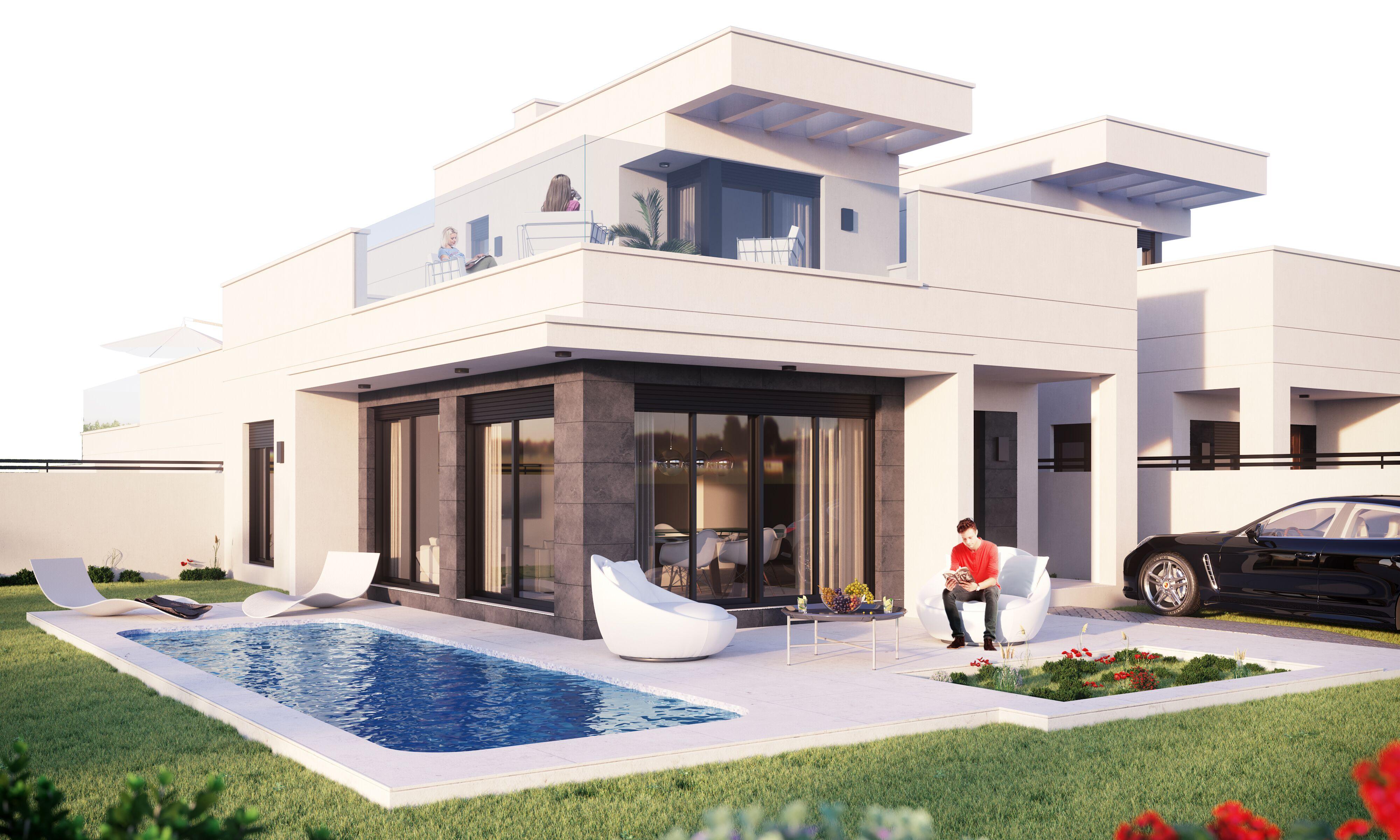 Moderne luxe villa's in San Fulgencio Costa Blanca Zuid