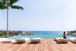 moderne zeezicht appartementen villajoyosa costa blanca