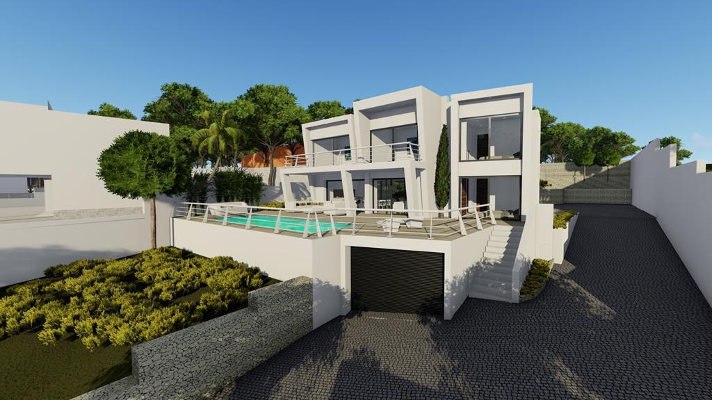 moderne luxe zeezicht villa benissa