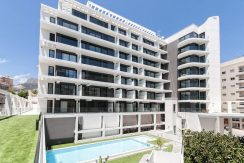 moderne strand appartementen Calpe