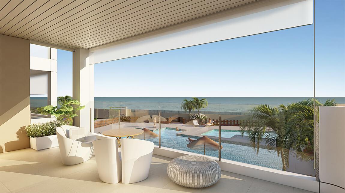 Moderne strand appartementen in Torre de la Horadada