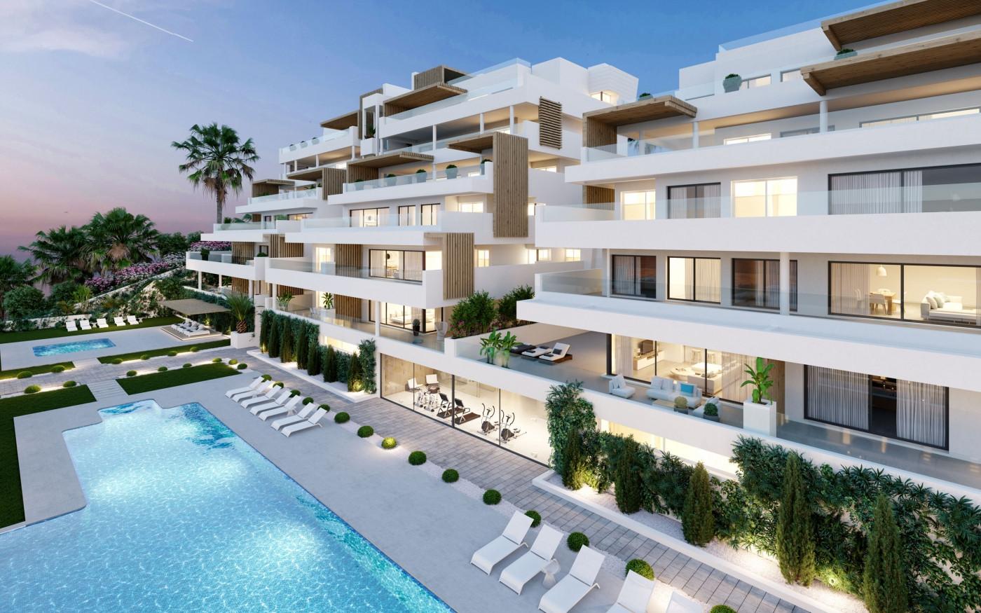 Moderne appartementen loopafstand strand, haven Estepona