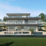 luxe zeezicht villa Elviria Marbella