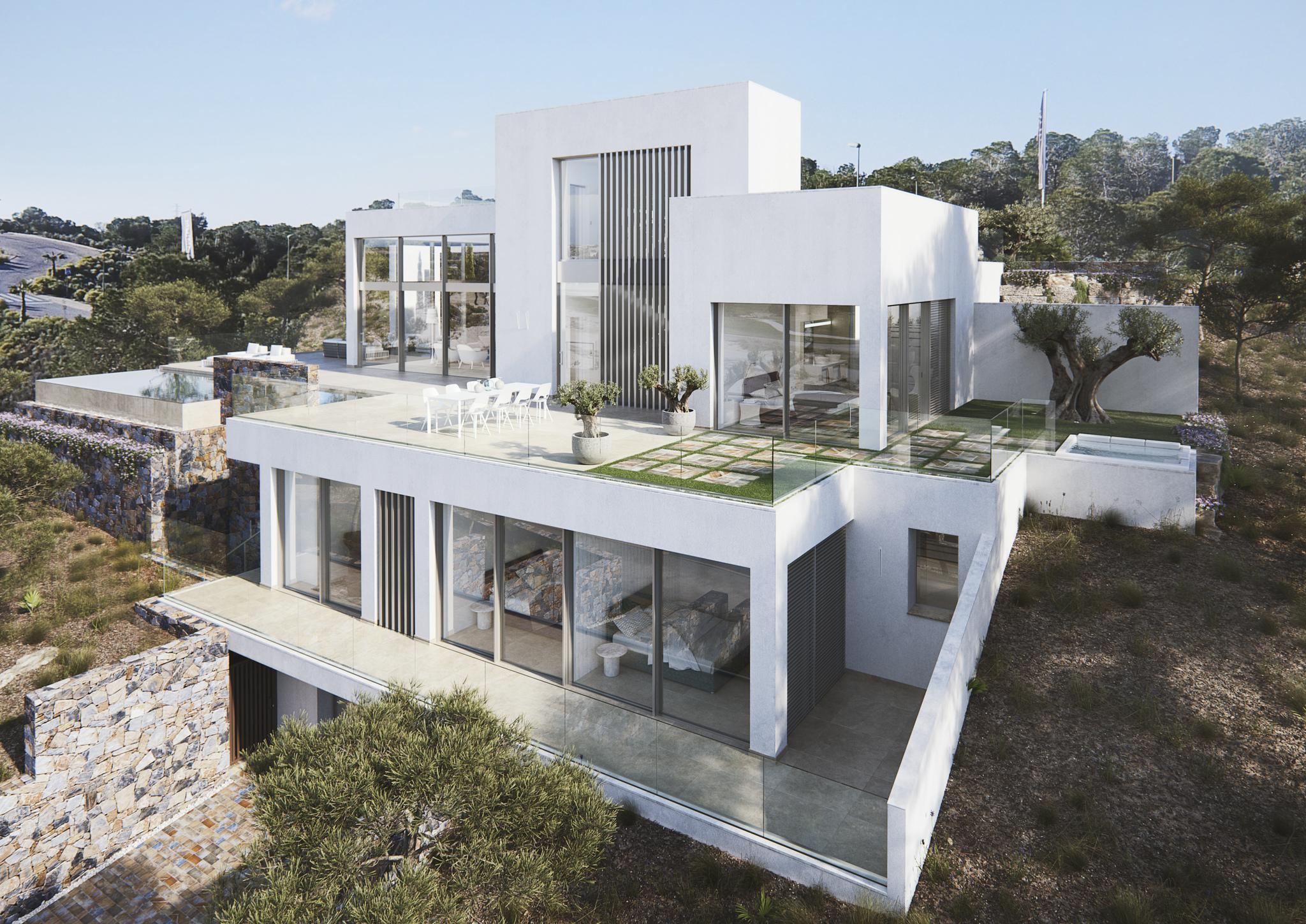 Moderne luxe villa in rustige omgeving van 5* golfdomijn Las Colinas