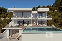 luxe zeezicht villa moraira