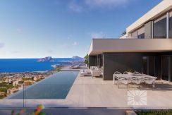 moderne villa zeezicht moraira