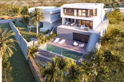 moderne villa golg mijas costa costa del sol