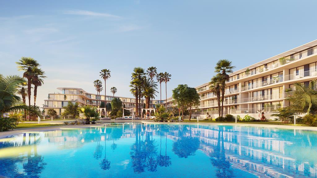 moderne strand appartementen Denia Spanje