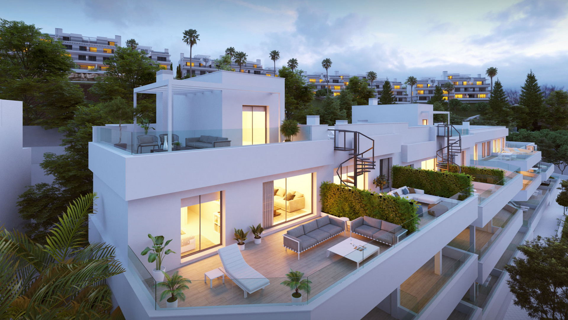 Moderne appartementen in Cancelada – New Golden Mile – Marbella