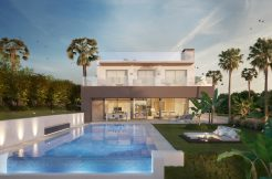luxe moderne villa Nueva Andalucia spanje