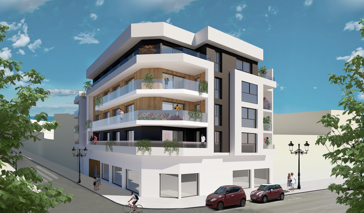 Moderne appartementen op 400 meter van strand in Guardamar