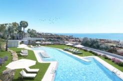 moderne zeezicht appartementen casares costa del sol