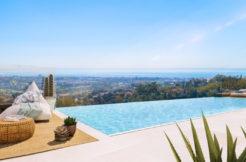 moderne luxe zeezicht villa benahavis