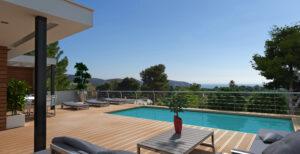 Moderne zeezicht villa in Moraira