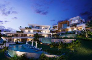 Moderne zeezicht appartementen, loopafstand golf en strand, Cabopino